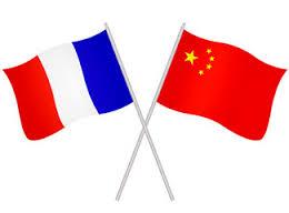 Drapeaux français et chinois